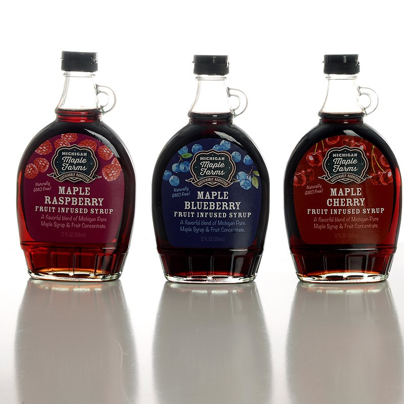Infused Maple Syrup