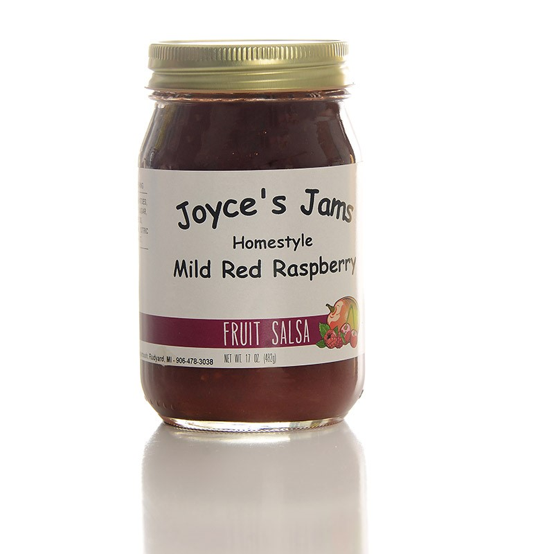 Mild Red Rasberry Salsa 17 oz