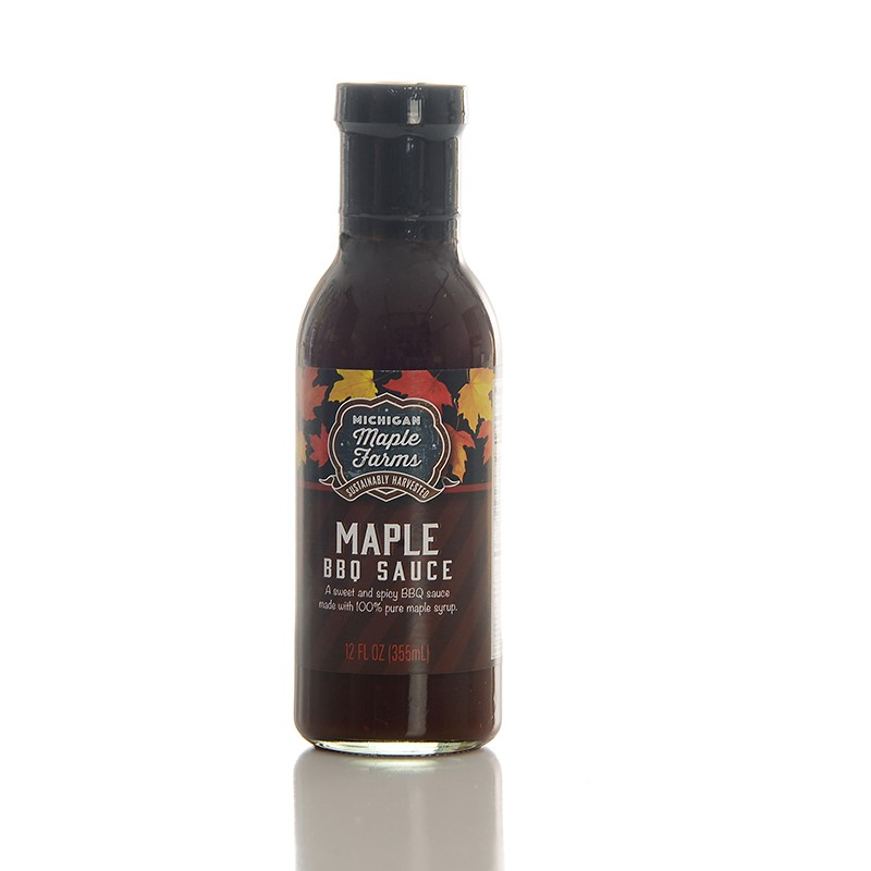 Maple BBQ Sauce 12 oz